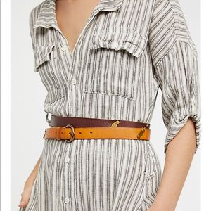 NWT Free People Willow Wrap Belt 💯 % leather
